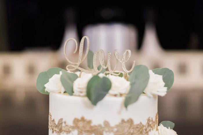 Wedding Cake Topper: Fresh Vintage Inspired Wedding at the Twentieth Century Club from Levana Melamed Photography featured on Burgh Brides