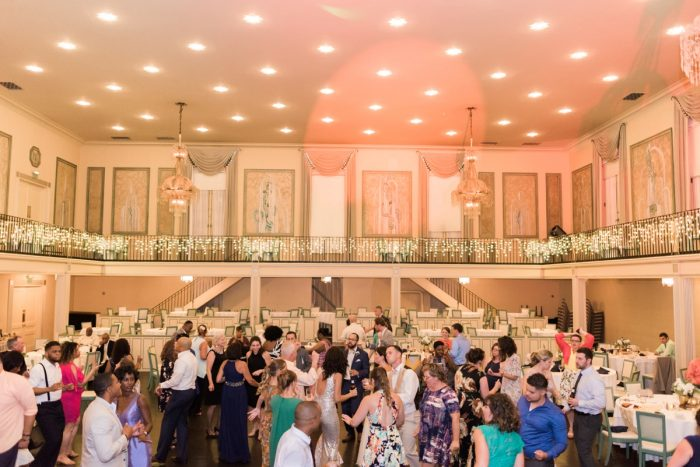 Wedding Dance Floor: Fresh Vintage Inspired Wedding at the Twentieth Century Club from Levana Melamed Photography featured on Burgh Brides