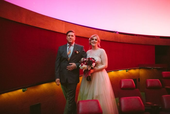 Carnegie Science Center Wedding: Small Eclectic Wedding at Smallman Galley from Caitlin Thomas Photography featured on Burgh Brides