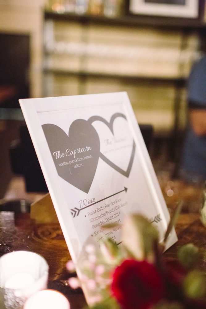Wedding Signs: Small Eclectic Wedding at Smallman Galley from Caitlin Thomas Photography featured on Burgh Brides