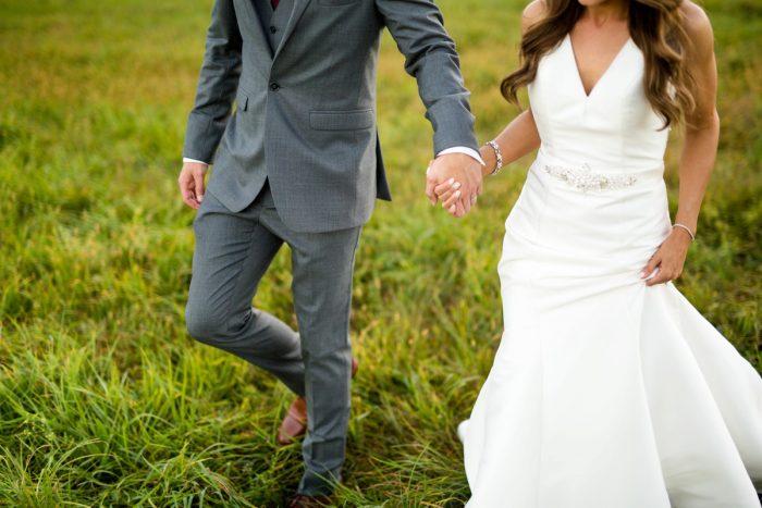 Vivid Fall Wedding at Shady Elms Farm from Jenna Hidinger Photography featured on Burgh Brides