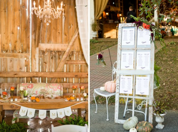 Rustic Wedding Details: Vivid Fall Wedding at Shady Elms Farm from Jenna Hidinger Photography featured on Burgh Brides