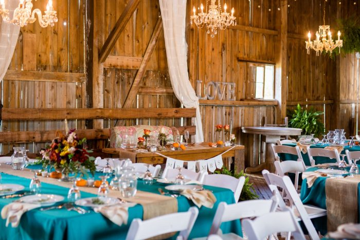 Fall Wedding Details: Vivid Fall Wedding at Shady Elms Farm from Jenna Hidinger Photography featured on Burgh Brides
