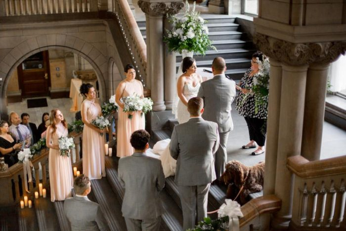 An Allegheny County Courthouse Wedding: 5 Things that Make it Unique from Burgh Brides