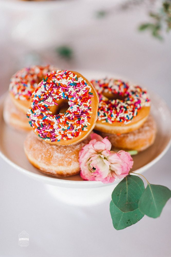 Sprinkled Donut: Blowouts, Bubbly, & Brunch Bridal Shower Inspiration from Jessica Garda Events and Palermo Photography featured on Burgh Brides