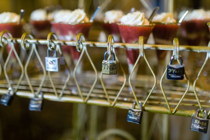 Wedding Dessert Display: Parisian Inspired Wedding at the LeMont from Kristen Wynn Photography featured on Burgh Brides