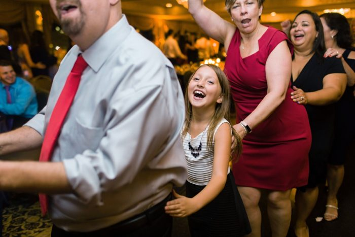 Conga line at wedding: Parisian Inspired Wedding at the LeMont from Kristen Wynn Photography featured on Burgh Brides