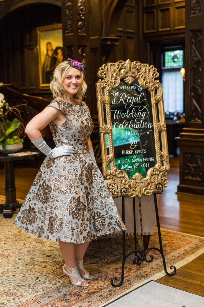 How We Celebrated the Royal Wedding! Burgh Brides & Jessica Garda Events Royal Wedding Watch Party