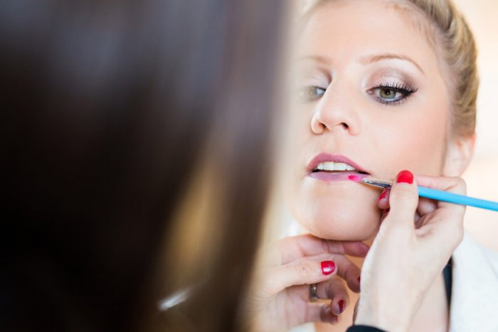 Glam Bride Wedding Makeup: Warm & Romantic Winter Wedding at Duquesne from Loren DeMarco Photography featured on Burgh Brides