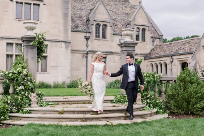 Hartwood Acres wedding: English Garden Wedding Inspiration from Hello Productions and April Smith Photography featured on Burgh Brides