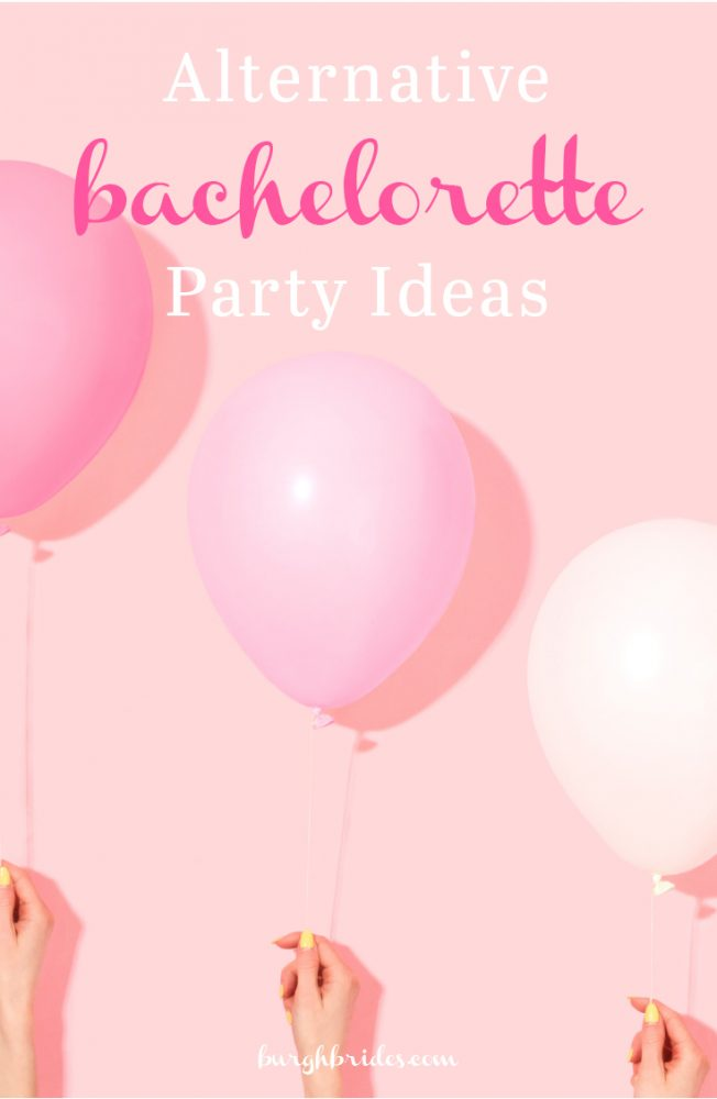 Alternative Bachelorette Party Ideas from Burgh Brides