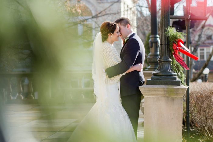 Winter Wedding Photos: Magical Christmas Wedding at the George Washington Hotel from Weddings by Alisa featured on Burgh Brides