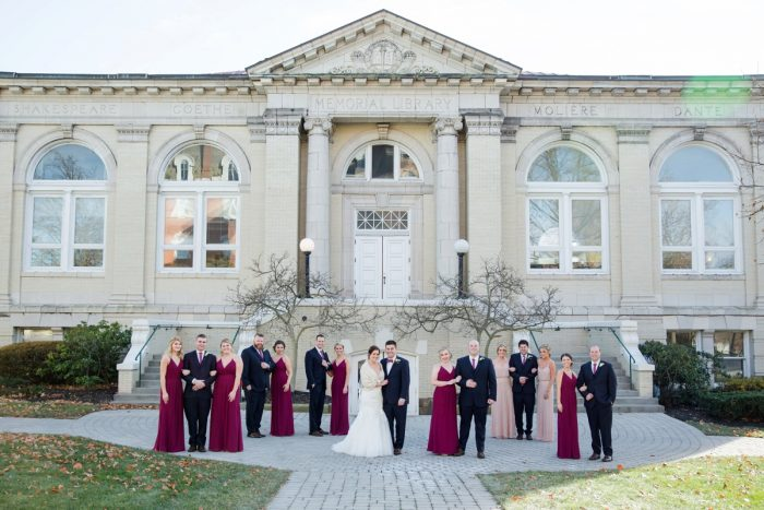 Washington PA Wedding Photos: Magical Christmas Wedding at the George Washington Hotel from Weddings by Alisa featured on Burgh Brides