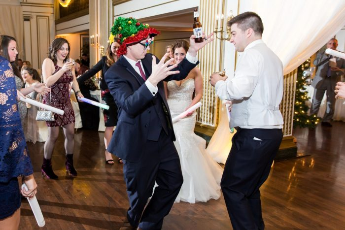 Magical Christmas Wedding at the George Washington Hotel from Weddings by Alisa featured on Burgh Brides