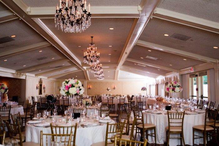 Oakmont Country Club Wedding: Girly & Glamorous Wedding at Oakmont Country Club from Leeann Marie Photography featured on Burgh Brides