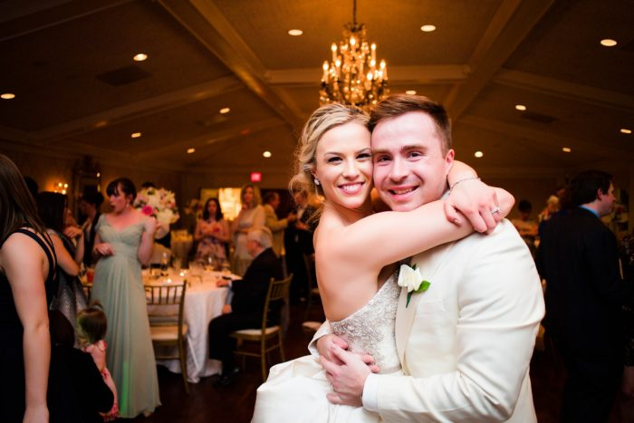 Girly & Glamorous Wedding at Oakmont Country Club from Leeann Marie Photography featured on Burgh Brides