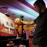 Live Painting by Jaison - Pittsburgh Live Wedding Painter & Burgh Brides Vendor Guide Member