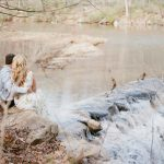 Swoon Worthy Nature Inspired Engagement Session from Lauren Renee Photography featured on Burgh Brides