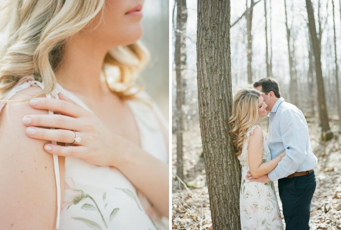 Outdoor engagement photo ideas. See more engagement photo ideas at burghbrides.com.