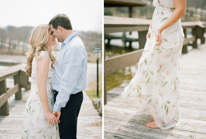What to wear for your engagement photos. See more engagement photo ideas at burghbrides.com.