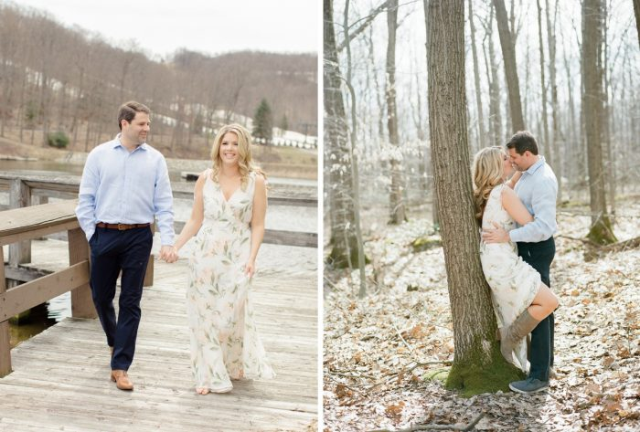Casual engagement photo ideas. See more engagement photo ideas at burghbrides.com.