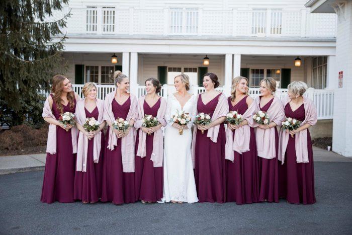 Winter Wedding Accessories: Warm December Embassy Suites Wedding from Dorosh Documentaries featured on Burgh Brides