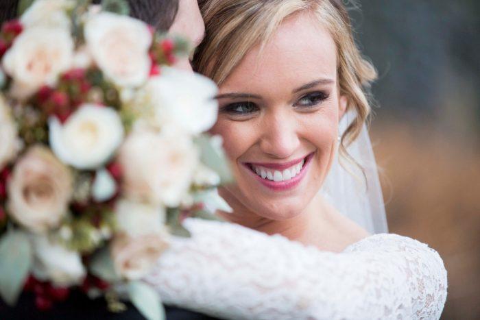 Bridal Makeup: Warm December Embassy Suites Wedding from Dorosh Documentaries featured on Burgh Brides