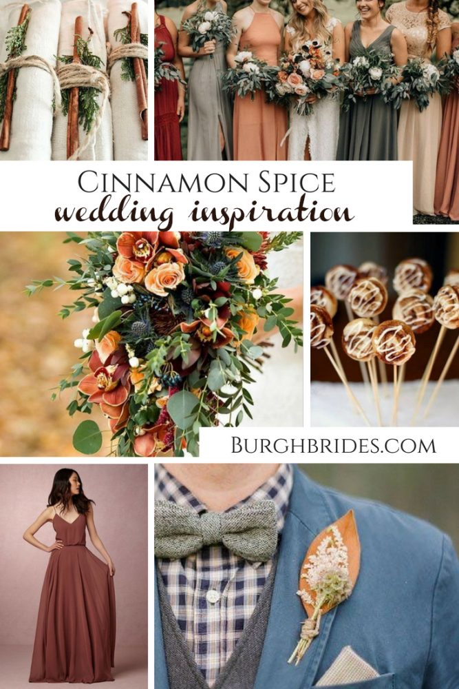 Cinnamon Spice Wedding Inspiration Perfect for Fall!