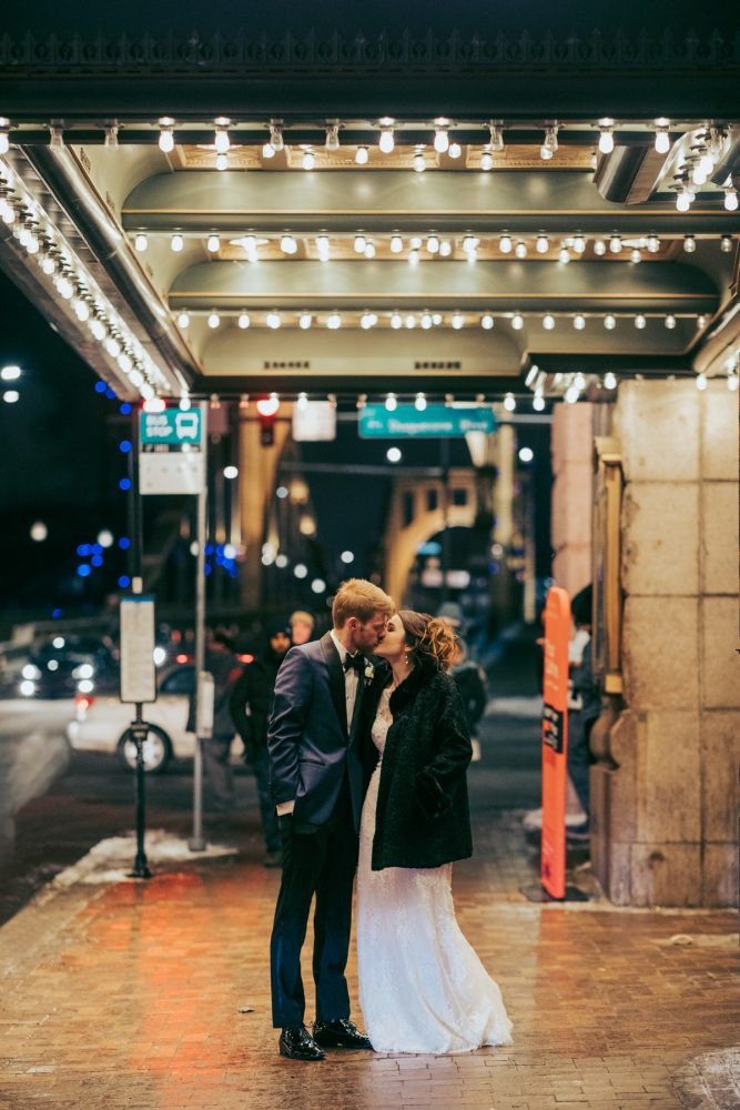 Downtown Pittsburgh wedding photos: Art Deco New Years Eve Pittsburgh Renaissance Hotel Wedding from Tyler Norman Photography featured on Burgh Brides
