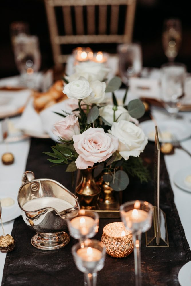 Art deco wedding decor: Art Deco New Years Eve Pittsburgh Renaissance Hotel Wedding from Tyler Norman Photography featured on Burgh Brides