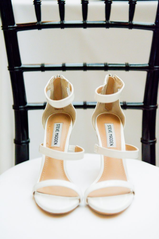 Strappy Wedding Shoes: Amalfi Coast Inspired Wedding at The Pennsylvanian from Bumbleburgh Events & Leeann Marie Photography featured on Burgh Brides