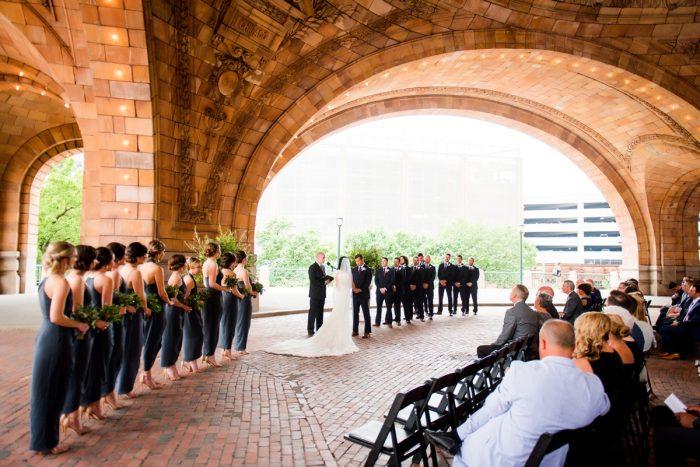 The Pennsylvanian Wedding: Amalfi Coast Inspired Wedding at The Pennsylvanian from Bumbleburgh Events & Leeann Marie Photography featured on Burgh Brides