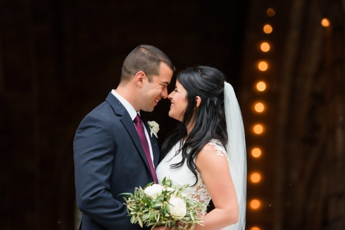 Olive Leaves Bridal Bouquet: Amalfi Coast Inspired Wedding at The Pennsylvanian from Bumbleburgh Events & Leeann Marie Photography featured on Burgh Brides