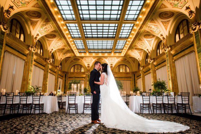 Wedding at The Pennsylvanian: Amalfi Coast Inspired Wedding at The Pennsylvanian from Bumbleburgh Events & Leeann Marie Photography featured on Burgh Brides