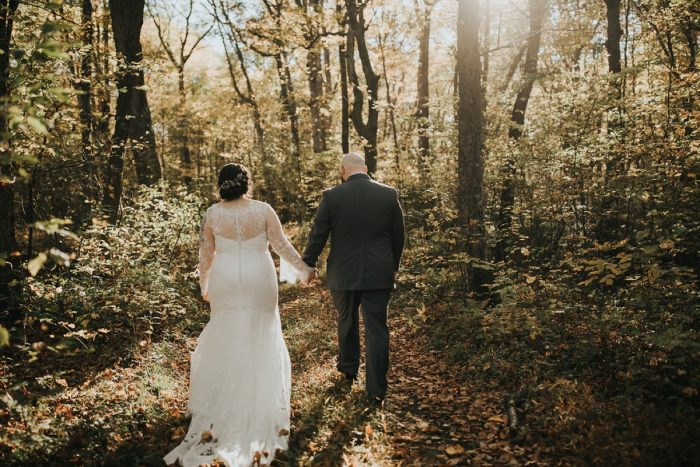 Woodsy Wedding Portraits: FALL in Love with This Enchanting Fernstone Wedding from Oakwood Photo + Video featured on Burgh Brides