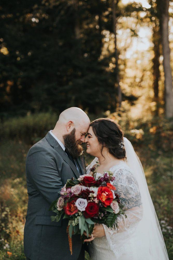 Fall Wedding Bouquet: v