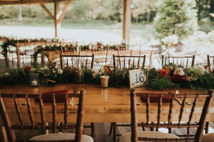 Boho Wedding Decor: FALL in Love with This Enchanting Fernstone Wedding from Oakwood Photo + Video featured on Burgh Brides