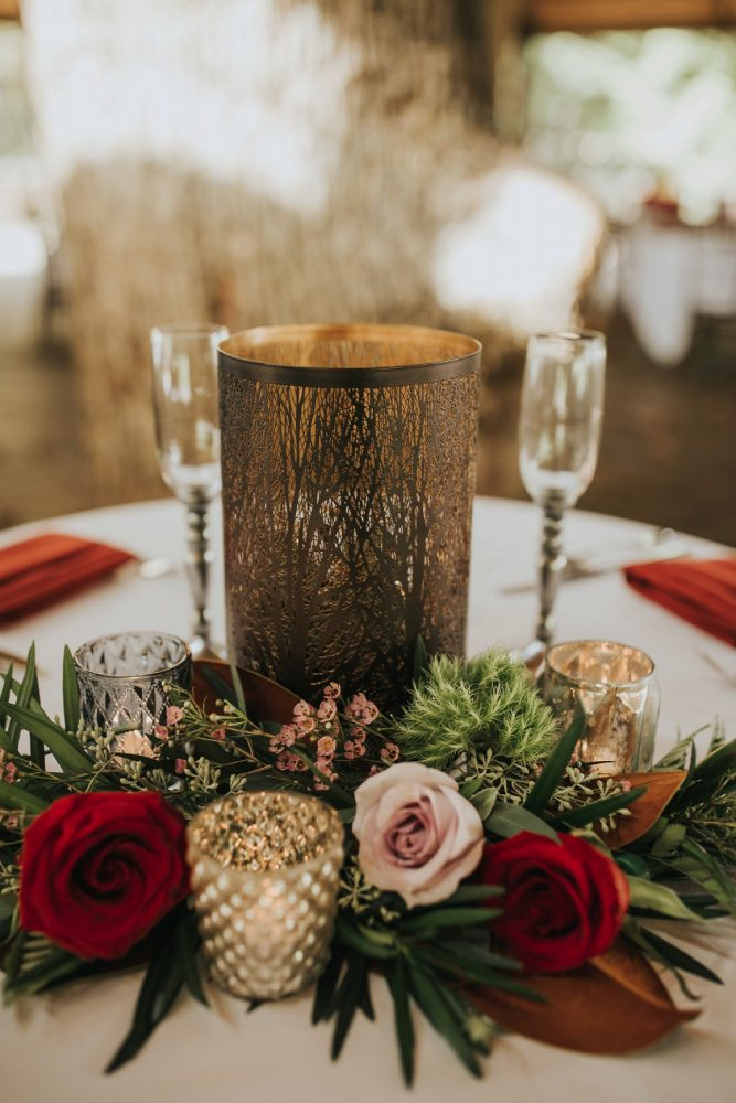 Fall Wedding Decor: FALL in Love with This Enchanting Fernstone Wedding from Oakwood Photo + Video featured on Burgh Brides