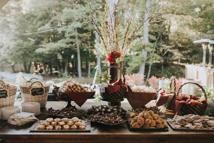 Pittsburgh Cookie Table: FALL in Love with This Enchanting Fernstone Wedding from Oakwood Photo + Video featured on Burgh Brides