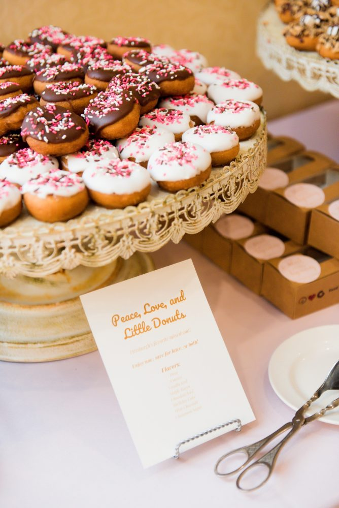 Pittsburgh Cookie Table: Elegant Spring Omni William Penn Wedding from Leeann Marie Photography featured on Burgh Brides