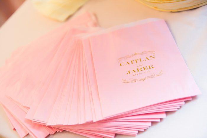 Custom Wedding Cocktail Napkins: Elegant Spring Omni William Penn Wedding from Leeann Marie Photography featured on Burgh Brides