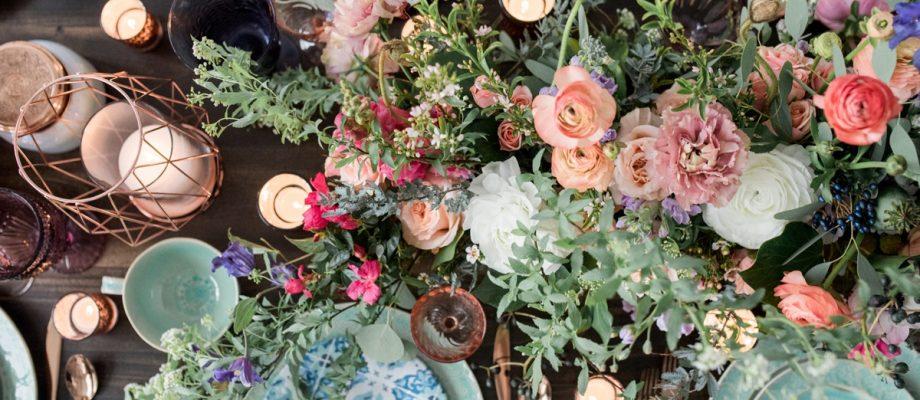 Bohemian Whimsical Wedding Inspired Styled Shoot