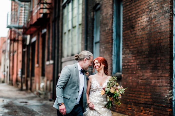 Hip Eclectic Wedding Inspiration from Sky's the Limit Photography featured on Burgh Brides