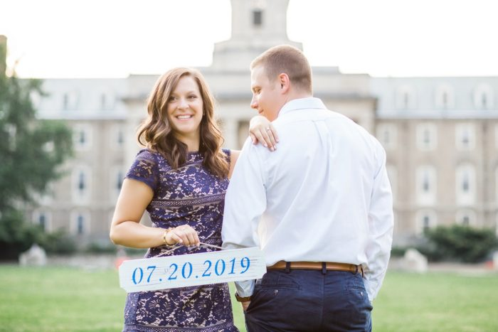 "This Penn State Engagement Session Will Have You Chanting ""WE ARE"""