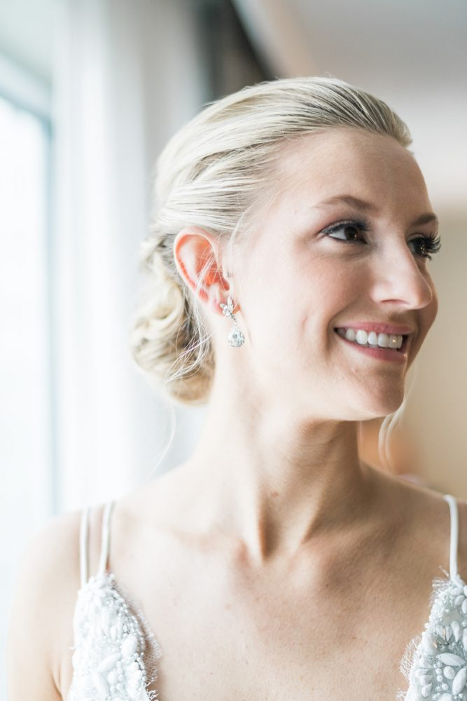 Pretty Bridal Makeup: Soft & Neutral Wedding at The Pennsylvanian from Levana Melamed Photography featured on Burgh Brides