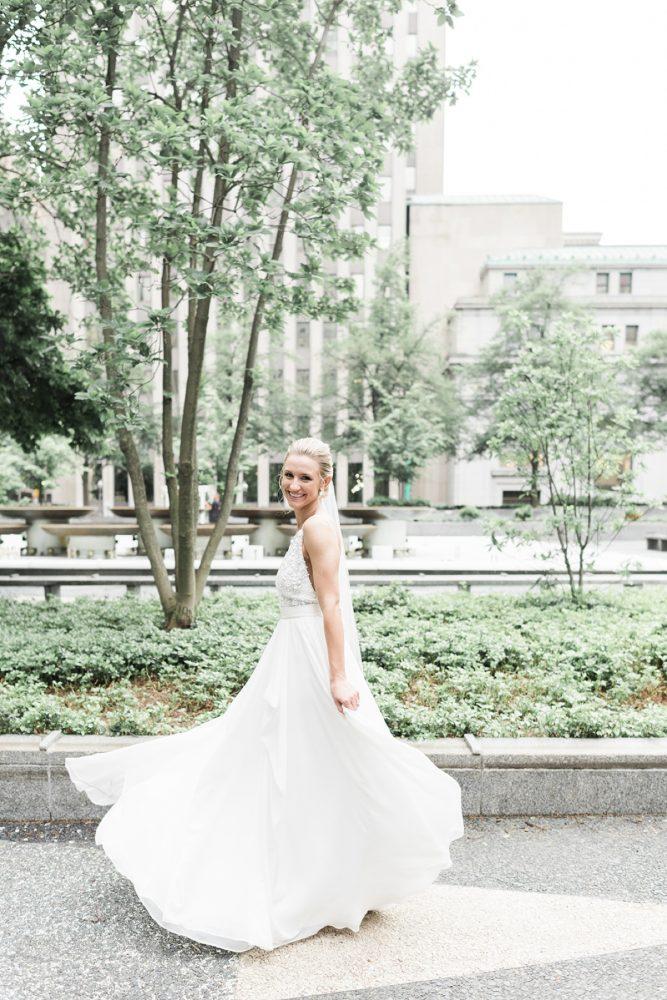 Truvelle wedding dress: v