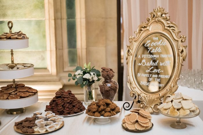 Pittsburgh cookie table: Soft & Neutral Wedding at The Pennsylvanian from Levana Melamed Photography featured on Burgh Brides