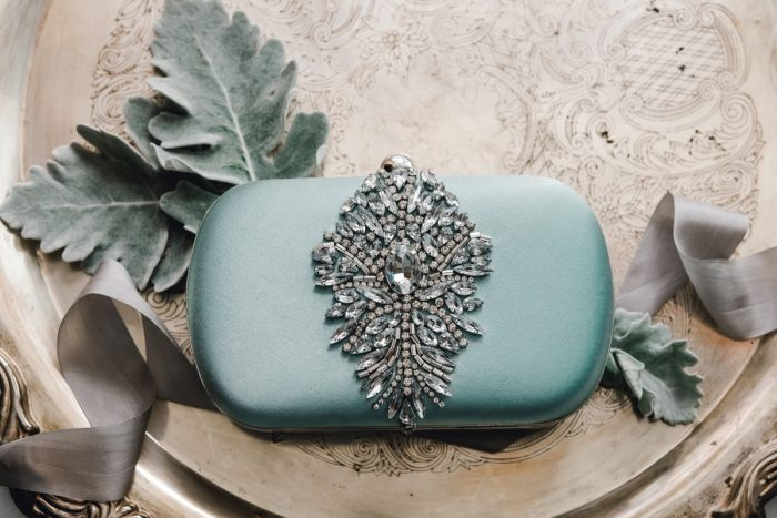 Beaded Wedding Clutch: Timeless & Elegant Omni William Penn Wedding from Dawn Derbyshire Photography & Olive & Rose Events