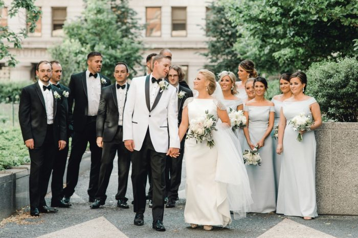 Downtown Pittsburgh Wedding Photos: Timeless & Elegant Omni William Penn Wedding from Dawn Derbyshire Photography & Olive & Rose Events