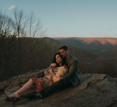 Breathtaking Ohiopyle Engagement Session